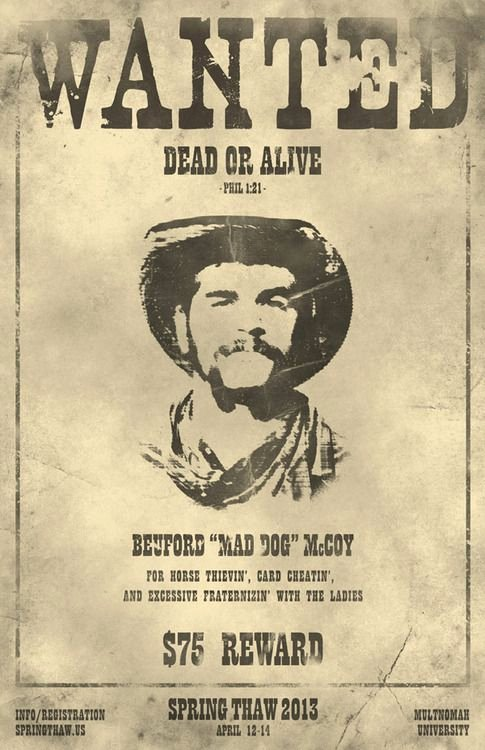 "Wanted Posters Old West Fresh Poster Inspiration for ""best In the West"" Teacher Appreciation Week"