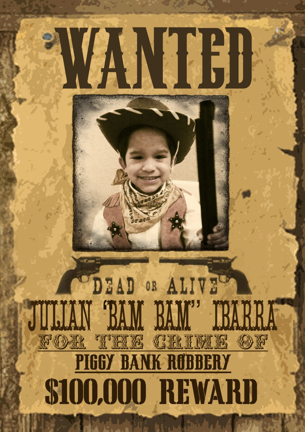Wanted Posters Old West Inspirational Wild West Wanted Poster Printable