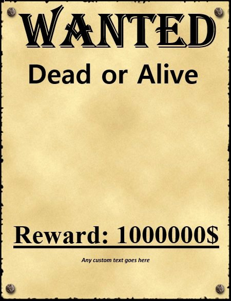 Wanted Posters Old West Unique 29 Free Wanted Poster Templates Fbi and Old West