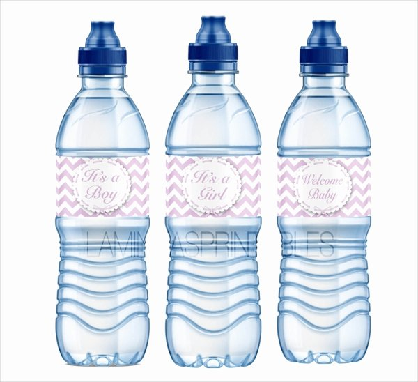 Water Bottle Label Template Best Of 26 Label Templates Free Psd Ai Eps format Download