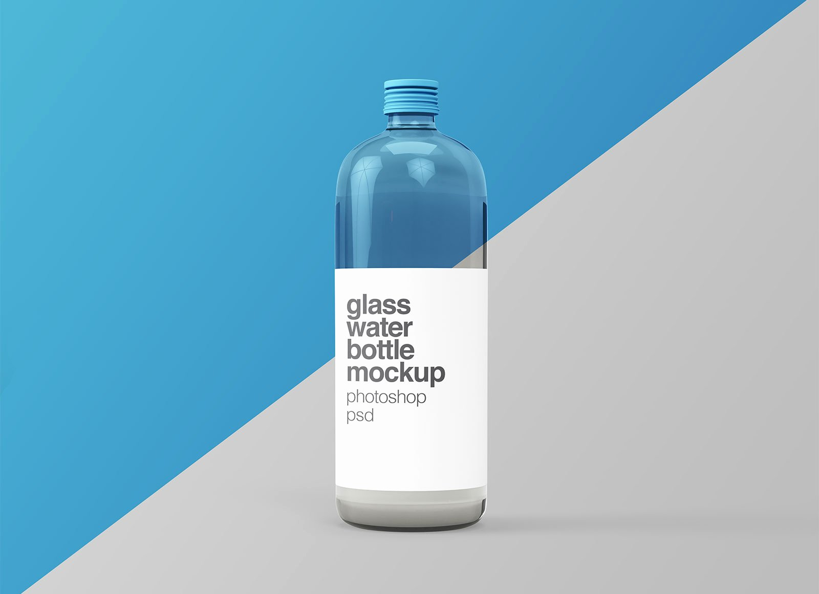 Water Bottle Mock Up Lovely Free Glass Water Bottle Mockup Psd Good Mockups