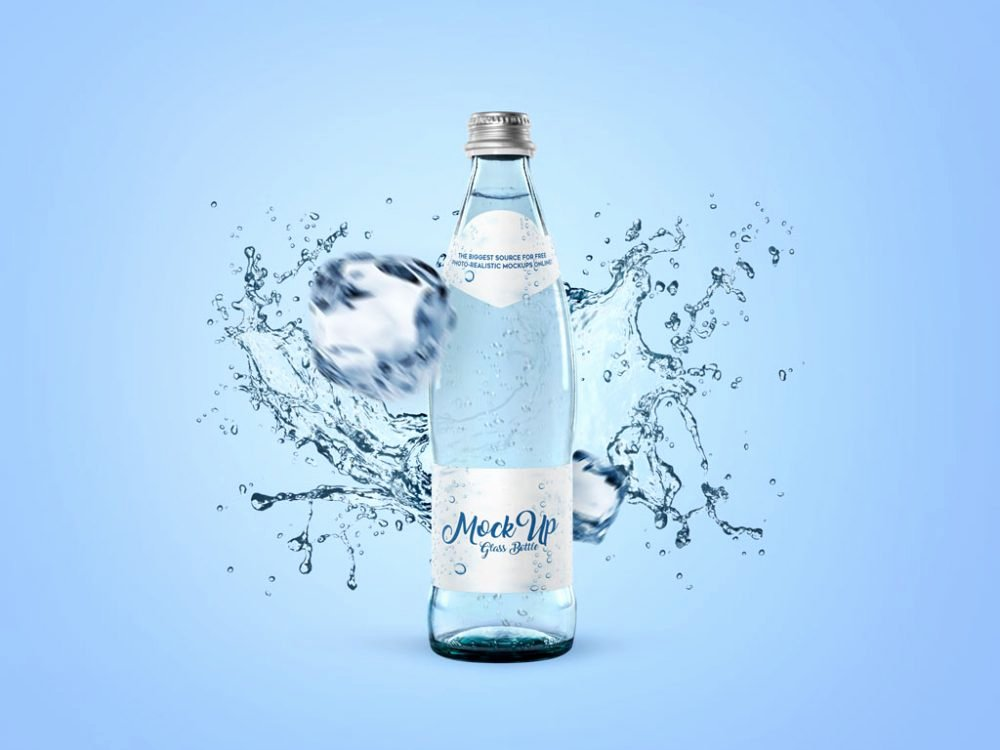 Water Bottle Mock Up Luxury 30 Water Bottle Mockups Free Collection thedesignz
