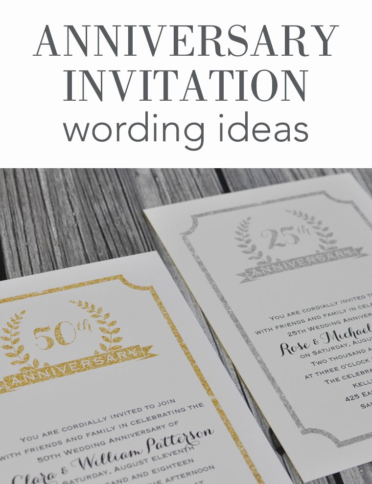 Wedding Anniversary Invitation Templates Awesome Wedding Anniversary Invitation Wording