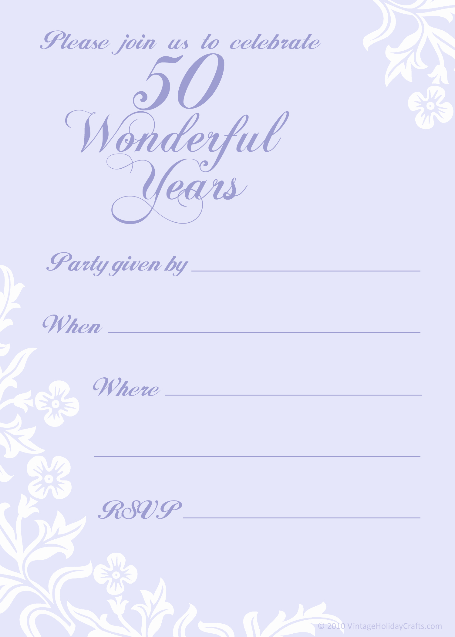 Wedding Anniversary Invitation Templates New Free 50th Wedding Anniversary Invitations Templates
