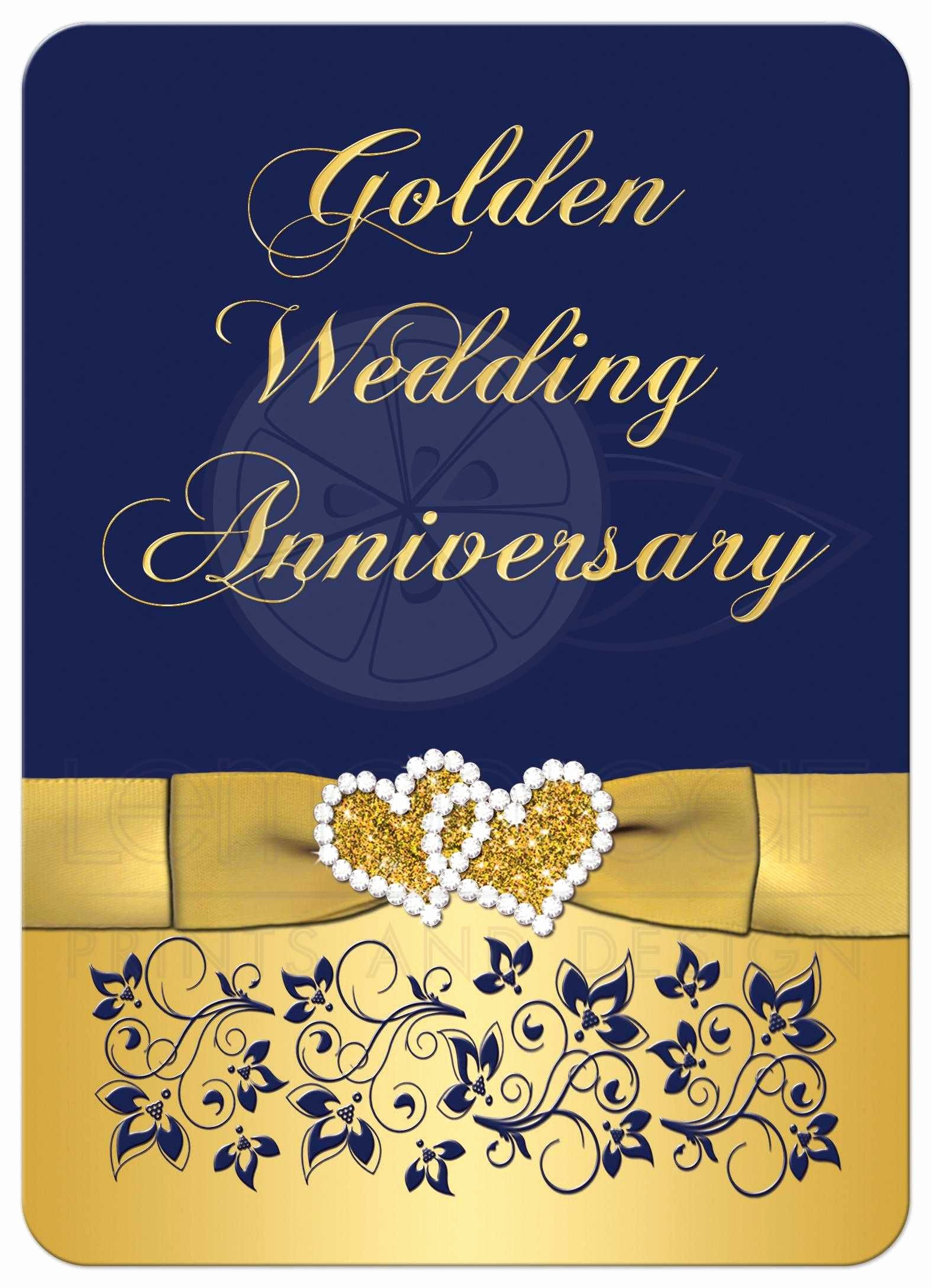 Wedding Anniversary Invite Template New Golden Wedding Anniversary Invitation Golden Wedding Anniversary Invitations Templates