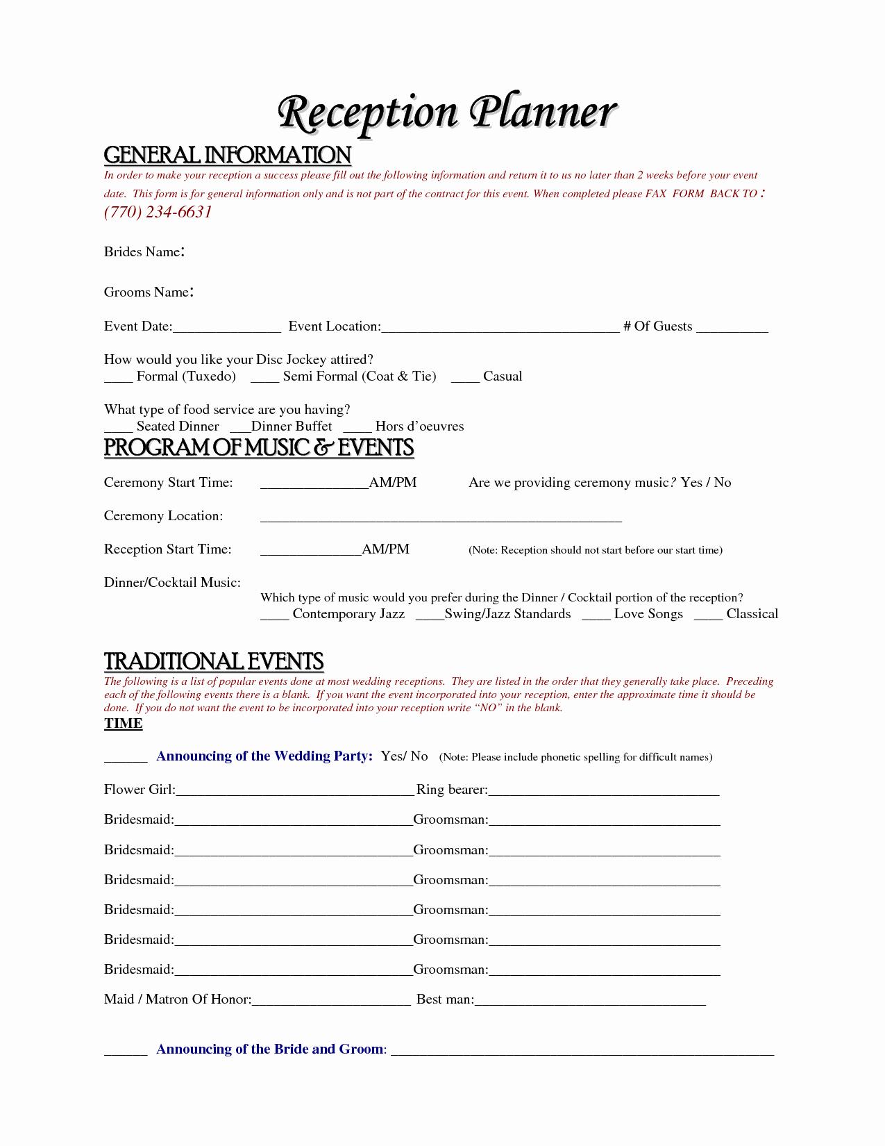 Wedding Dj Contract Template Elegant Free Wedding Planner Contract Template Accessoires Pour Réussir Votre Mariage Sur