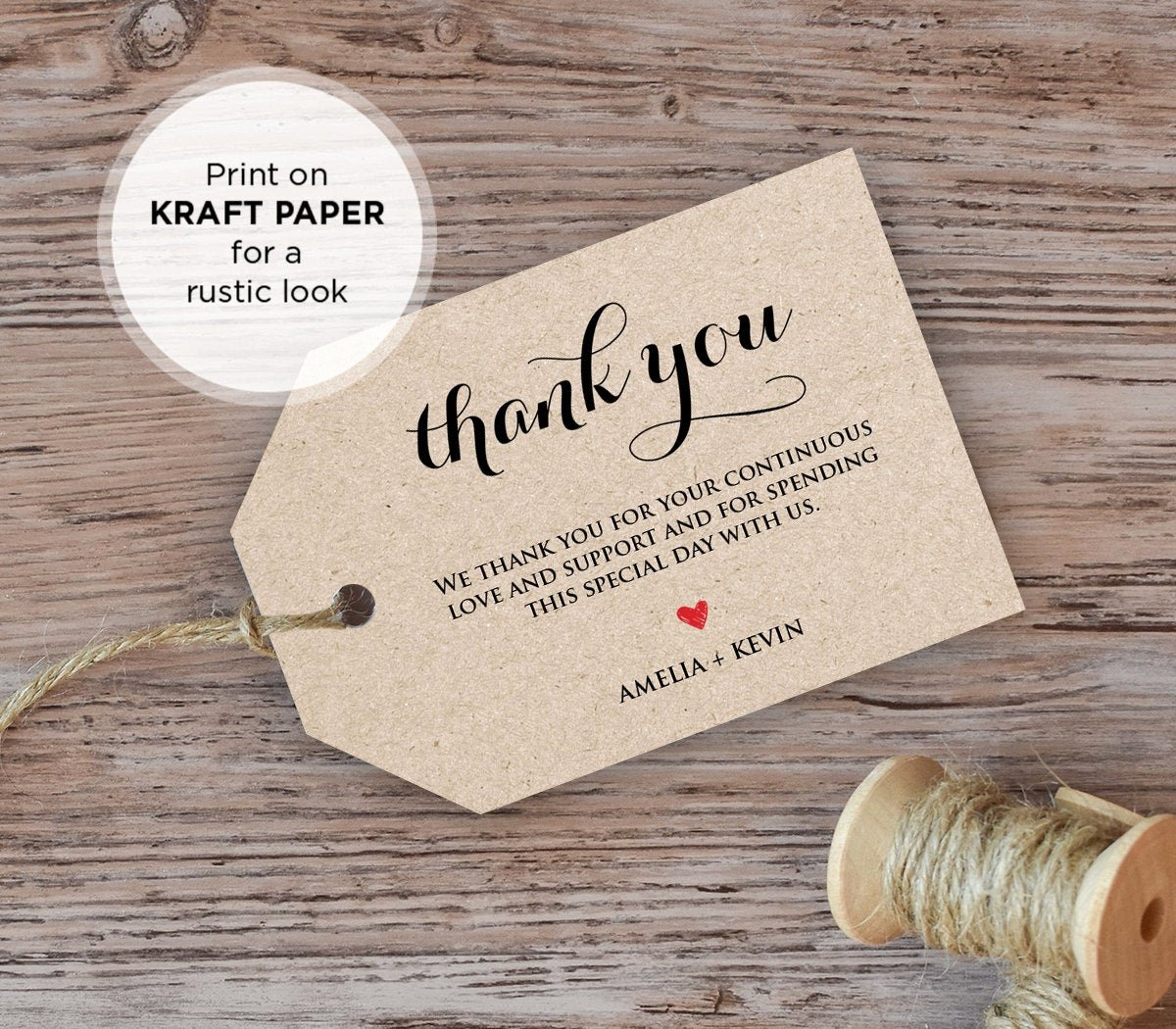 Wedding Favor Thank You Tag Lovely Wedding Thank You Tag Wel E Tag Favor Tag Diy Kraft Printable Tags Instant Download
