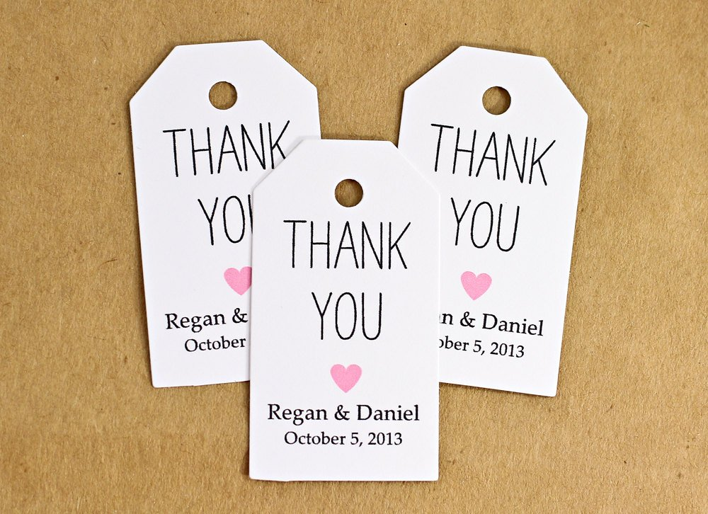 Wedding Favor Thank You Tag Luxury Favor Tags Wedding Favor Tag Bridal Shower Favor Thank by Idotags