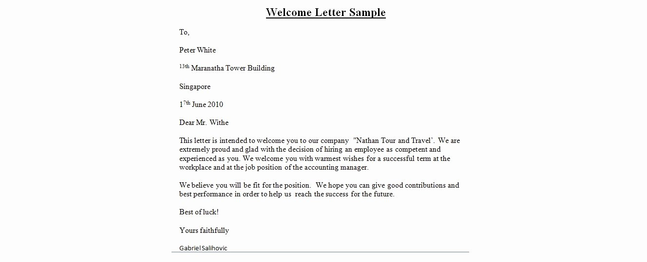 Wedding Hotel Welcome Letter Template Beautiful Wedding Wel E Letter Template