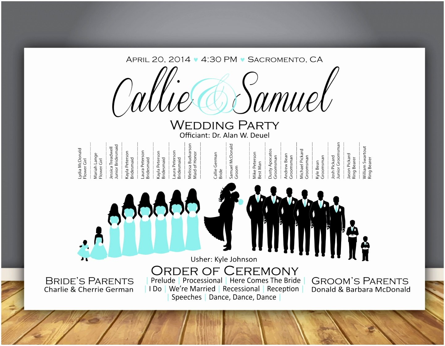Wedding Party Lineup Template Inspirational 10 Wedding Line Up Template Ouaii