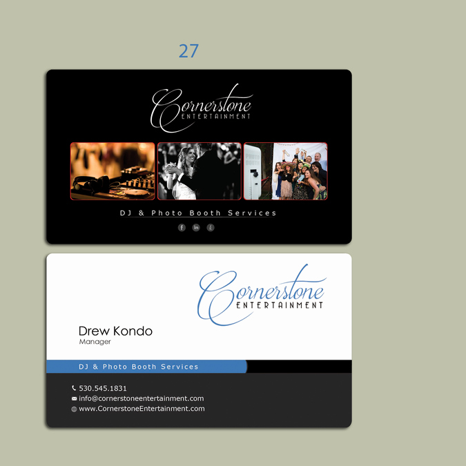 Wedding Photography Business Cards Awesome Wedding Dj & Booth Business Needs Business Cards