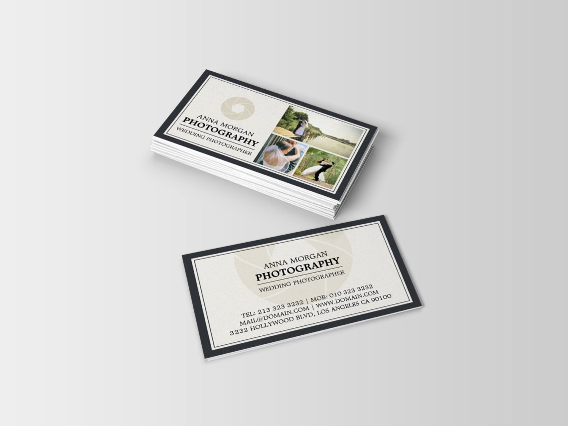 Wedding Photography Business Cards Beautiful Elegant Wedding Grapher Business Cards J32 Design