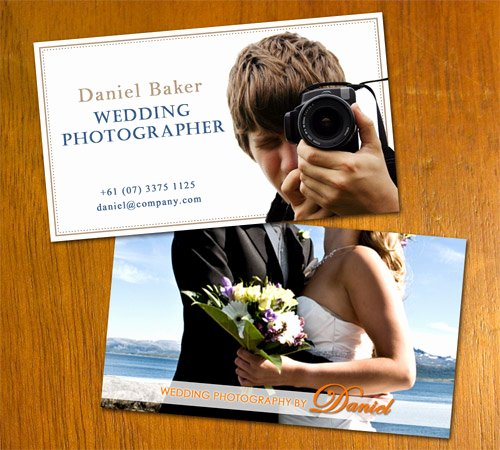 Wedding Photography Business Cards Beautiful Free Business Card Templates