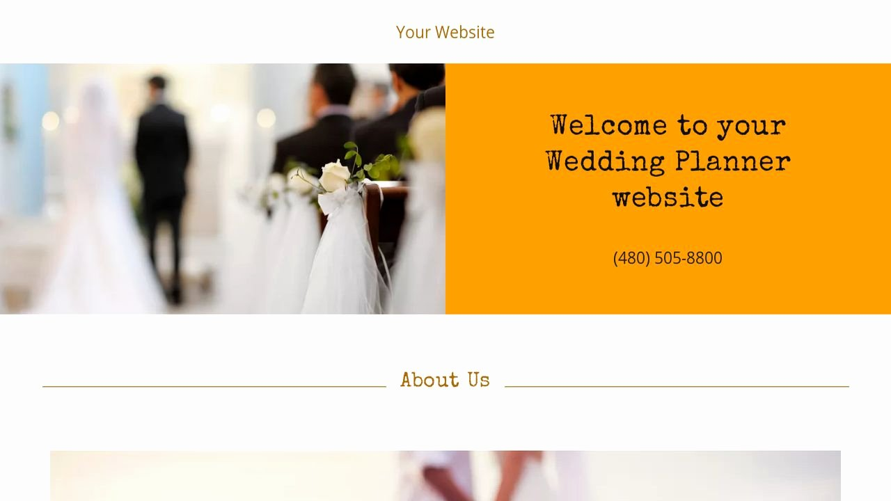 Wedding Planner Website Template Best Of Wedding Planner Website Templates