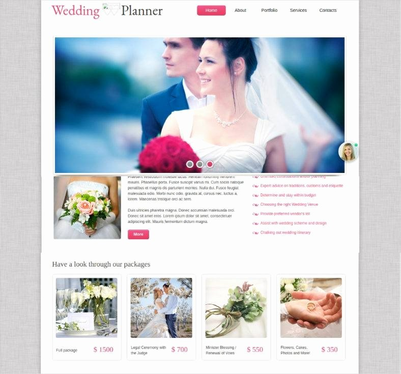Wedding Planner Website Template Fresh 19 Best Wedding event Planner Website Templates
