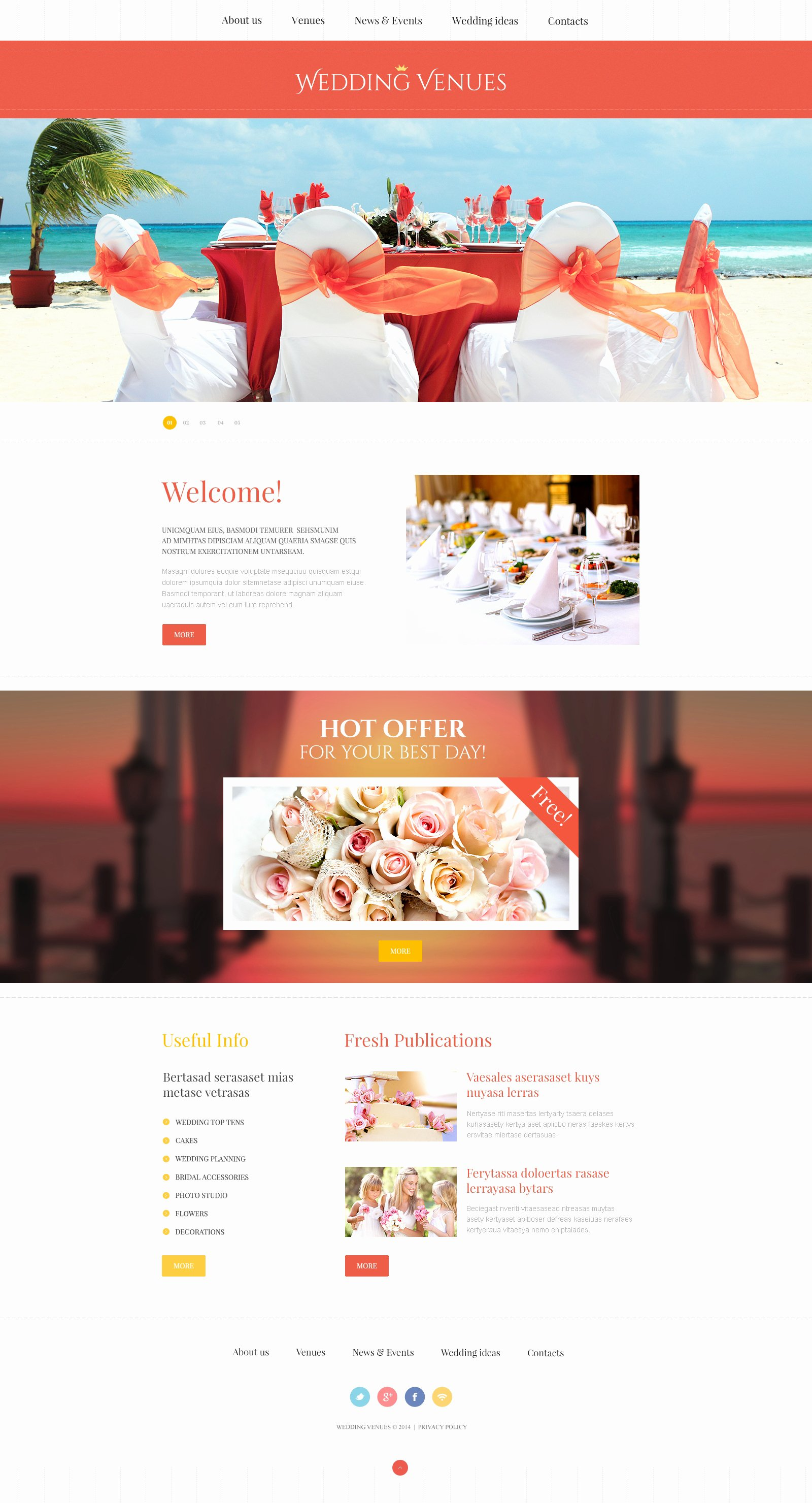 Wedding Planner Website Template Fresh Wedding Planner Responsive Website Template