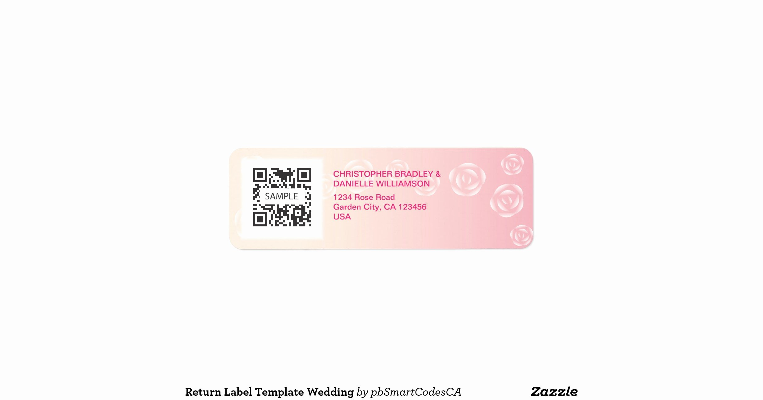 Wedding Return Address Label Templates Luxury Return Label Template Wedding Return Address Label