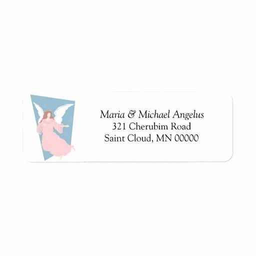 Wedding Return Address Label Templates Unique Religious Wedding Template Invites Envelope Labels Custom
