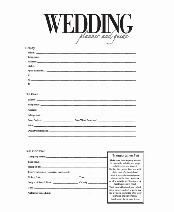 Wedding Vendor Contract Template Awesome Image Result for Wedding Planner Contract form