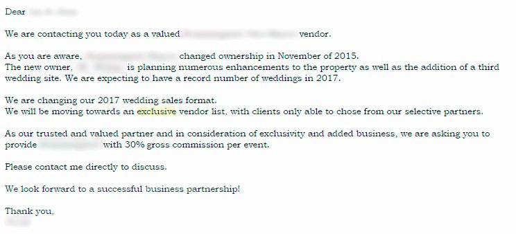 Wedding Vendor Contract Template Best Of 5 Things Every Bride & Groom Needs to Know About Preferred