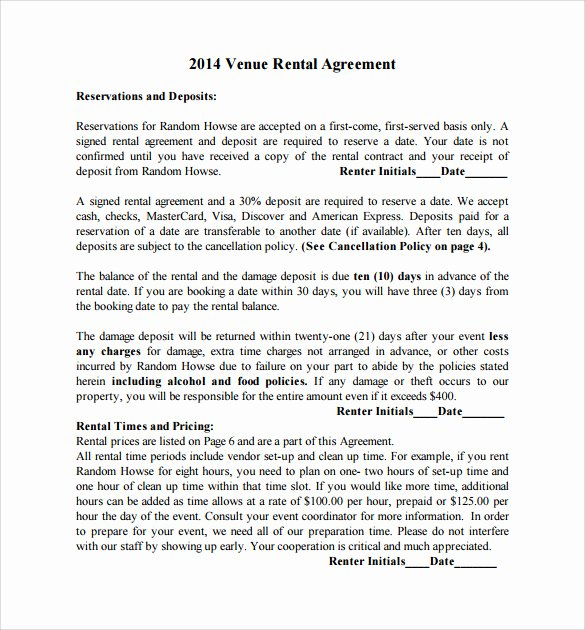 Wedding Venue Contract Template Luxury Sample Wedding Contract 25 Documents In Pdf Word