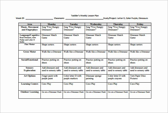 Weekly Lesson Plan Template Doc Luxury Lesson Plan Template Pdf Weekly – Printable Schedule Template