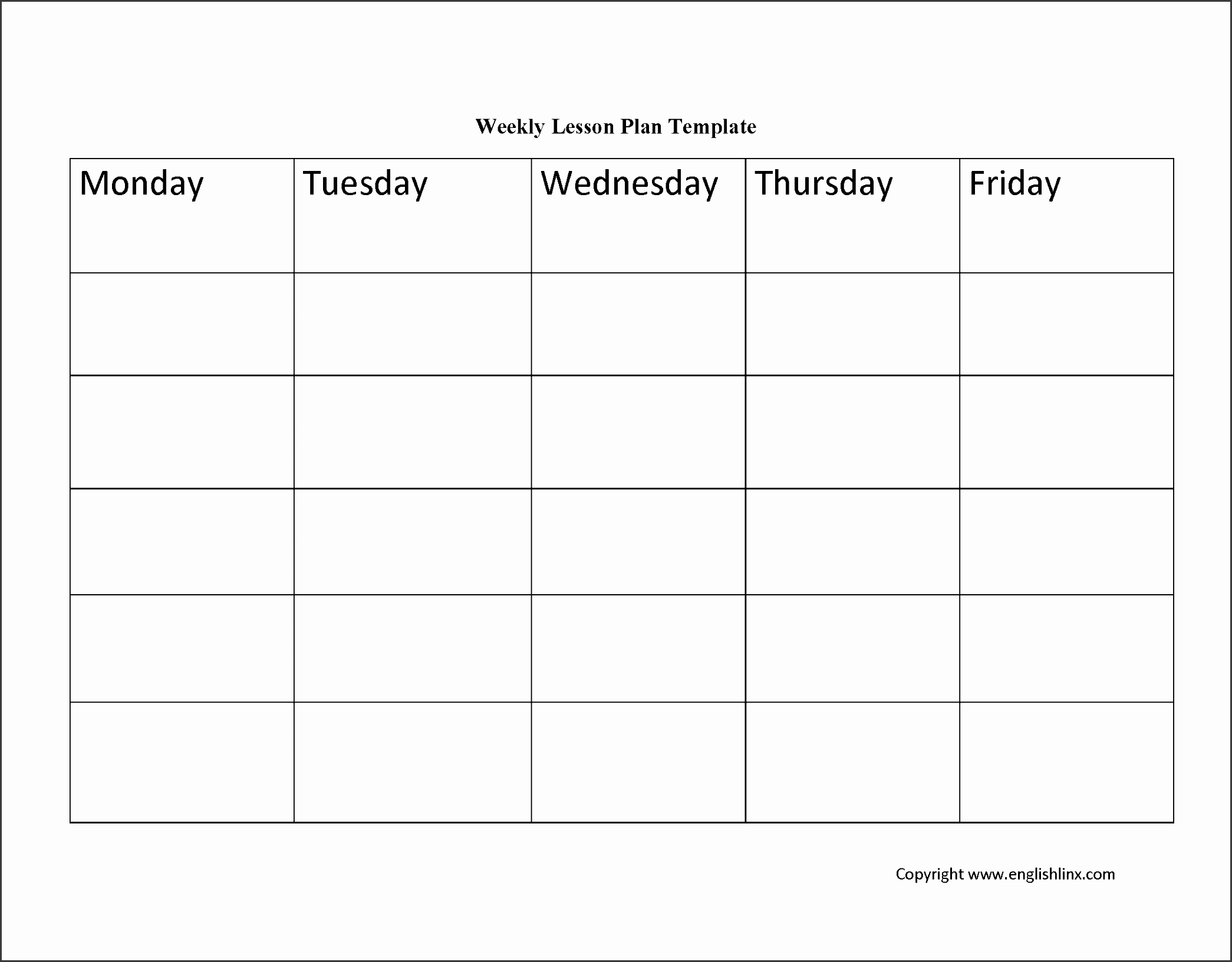 Weekly Lesson Plan Template Elementary Unique 10 Academic Lesson Planner Template Sampletemplatess