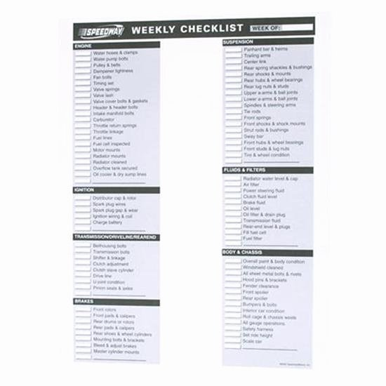 Weekly Vehicle Maintenance Checklist Beautiful Weekly Checklist