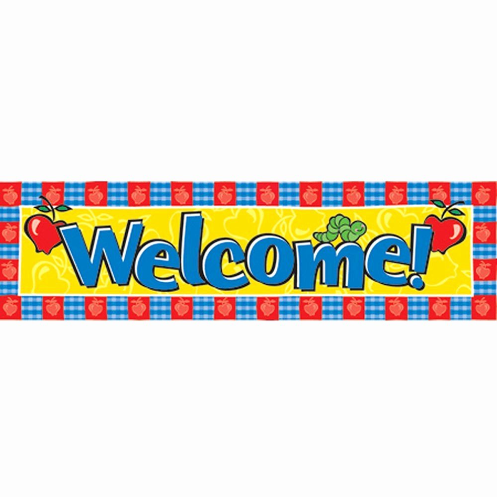 Welcome Banners for School Best Of Banner Wel E Horizontal 45 X 12 Eu Eureka