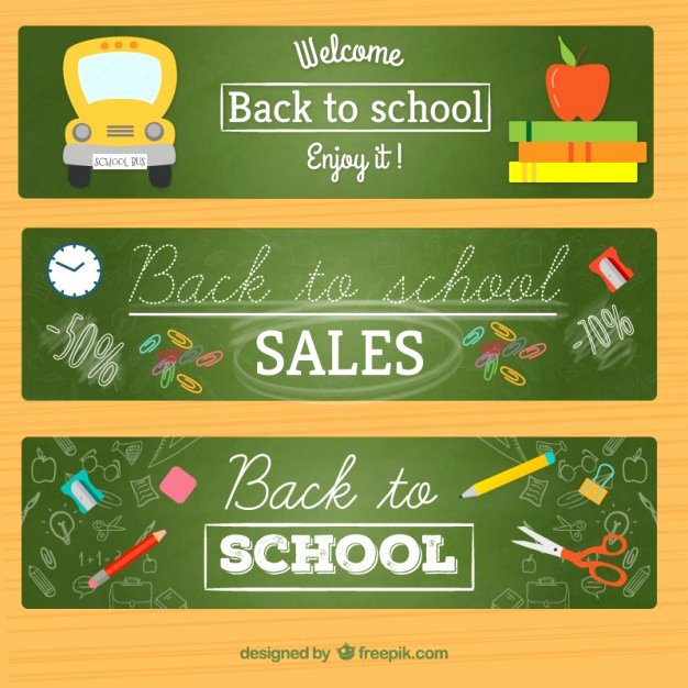 Welcome Banners for School Lovely Wel E Back to School Banners Vector