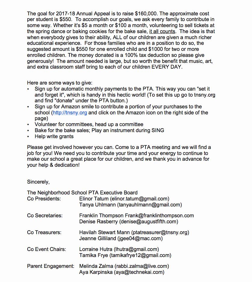 Welcome to the Neighborhood Letter Awesome Wel E From the Neighborhood School Pta the Neighborhood School
