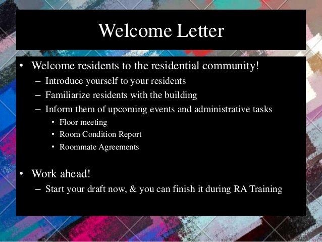 Welcome to the Neighborhood Letter Beautiful Munity Development Model