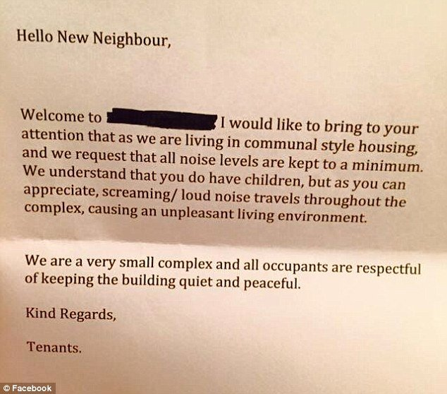 Welcome to the Neighborhood Letter Best Of Mother S Fury Over Anonymous Letter From Neighbour that Urged Her to Keep Kids Quiet