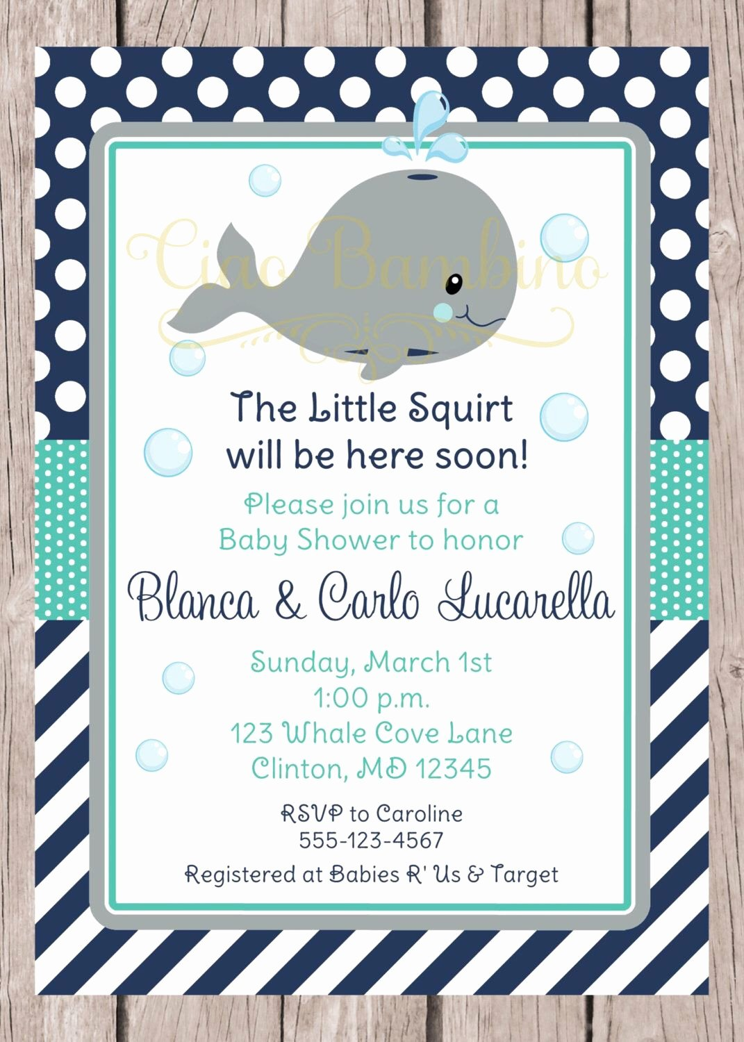 Whale Baby Shower Free Printables Inspirational Printable Whale Baby Shower Invitation Navy Blue Gray