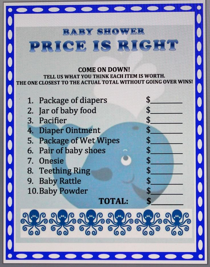 Whale Baby Shower Free Printables Inspirational Whale theme Baby Shower Game Preppy Whale