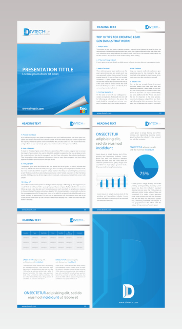 White Paper Design Template Elegant Creating A Visually Engaging White Paper Layout Template for Digital Demand Generation Pany
