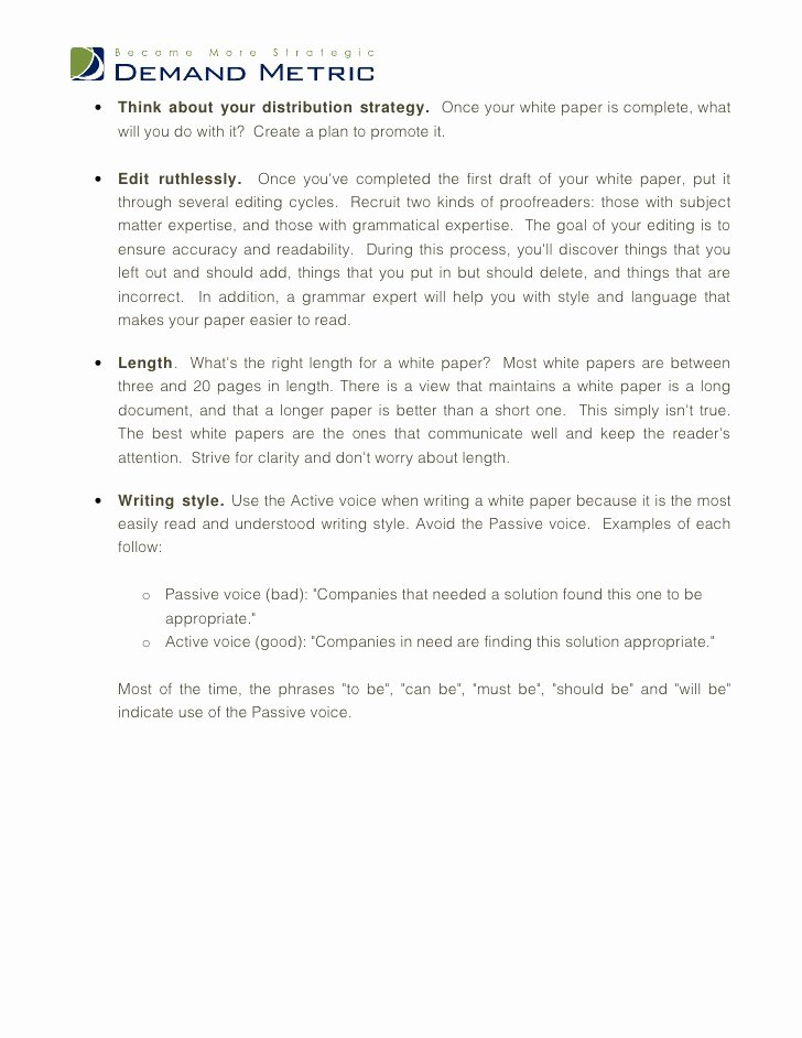 White Paper Design Template Lovely White Paper Template