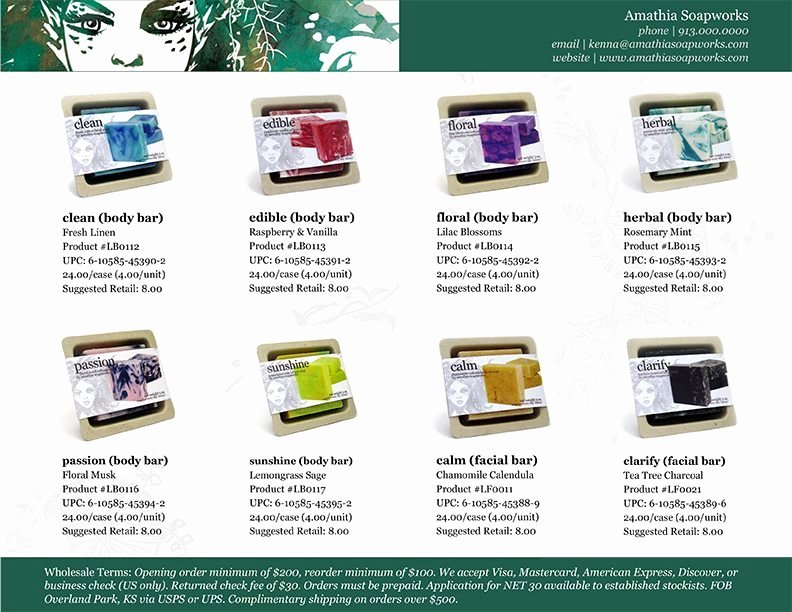 Wholesale Line Sheet Template Awesome the Bare Necessities Of wholesale Magic