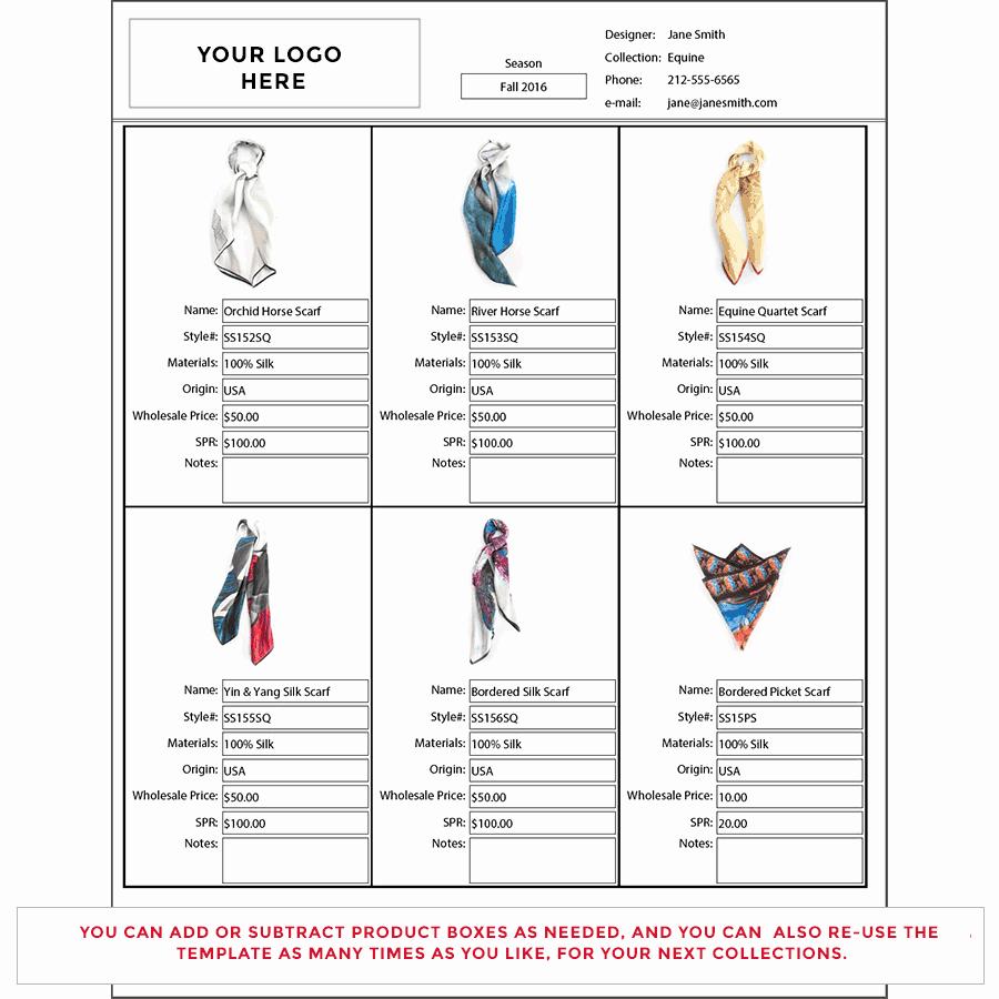 Wholesale Line Sheet Template Beautiful wholesale Line Sheet Template