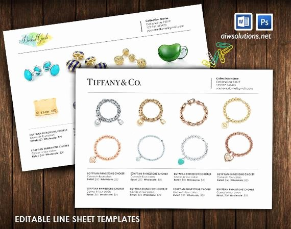 Wholesale Line Sheet Template Inspirational Product Line Sheet wholesale Catalog Template Mini Product