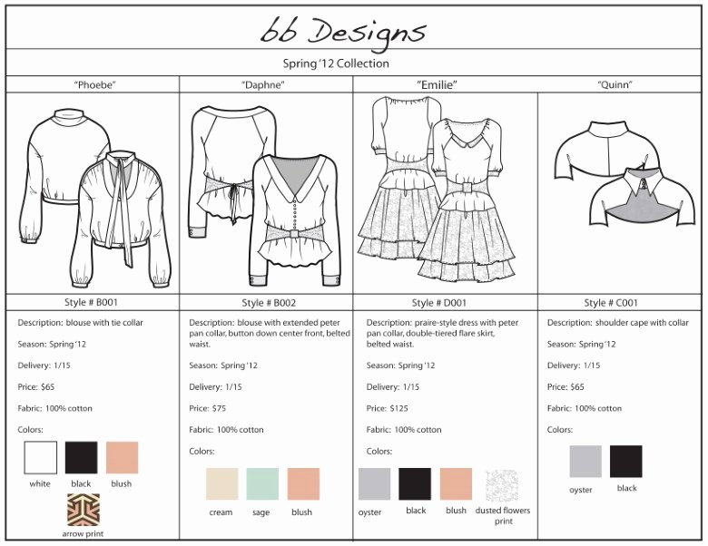 Wholesale Line Sheet Template Luxury Line Sheet Definitive Guide for wholesale Fashion Fashion Insiders