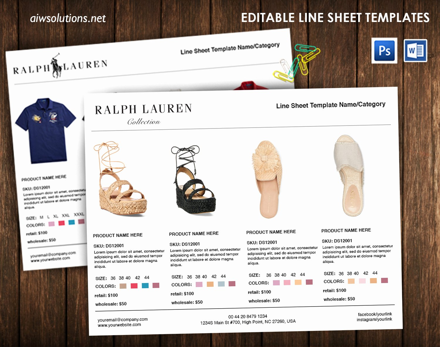 Wholesale Line Sheet Template Luxury Vertical Line Sheet How to Create A Line Sheet Custom Line Sheet