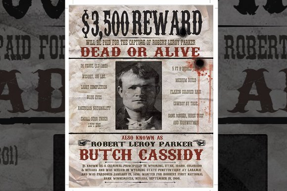 Wild West Wanted Posters Awesome Free Gangster Wanted Poster Template Polarview