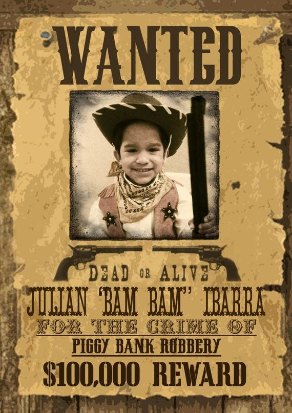 Wild West Wanted Posters Inspirational Unavailable Listing On Etsy