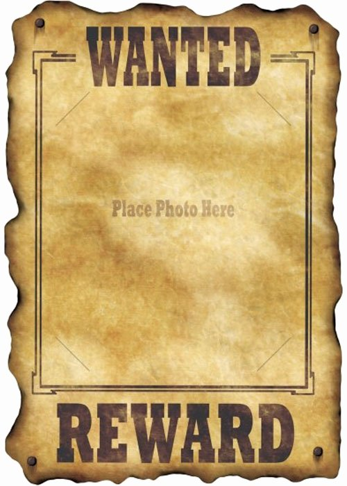 Wild West Wanted Posters Inspirational Wild West Wanted Poster Decoration