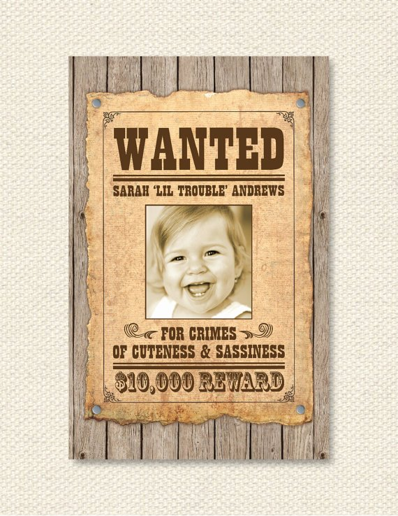 Wild West Wanted Posters Lovely Items Similar to Custom Wanted Poster Wild West On Etsy