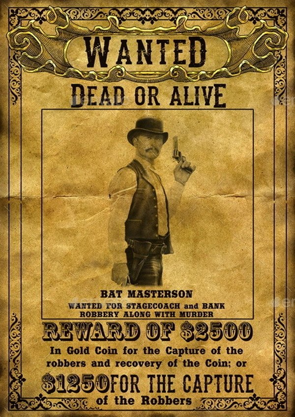Wild West Wanted Posters New 14 Wanted Poster Designs and Examples Psd Ai