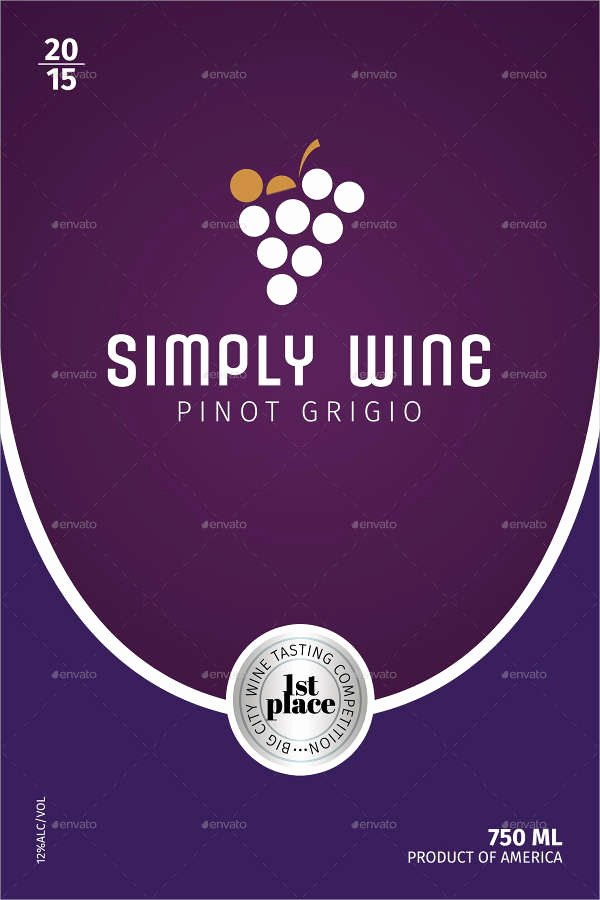 Wine Label Template Photoshop Fresh 34 Beautiful Wine Label Designs Psd Vector Ai Eps