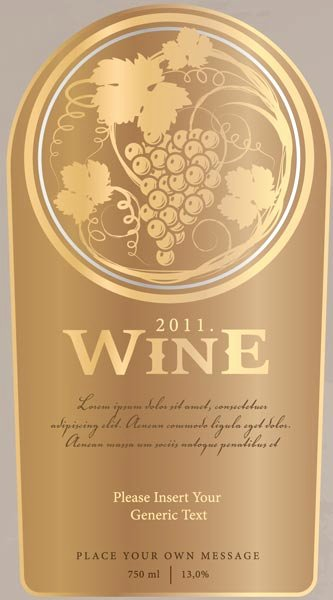 Wine Label Template Photoshop Inspirational Creative Wine Bottle Labels Vector