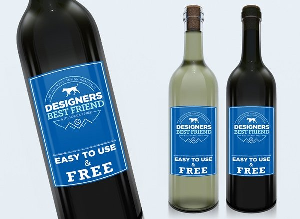 Wine Label Template Photoshop New 25 Free Psd Wine Bottle Mockups